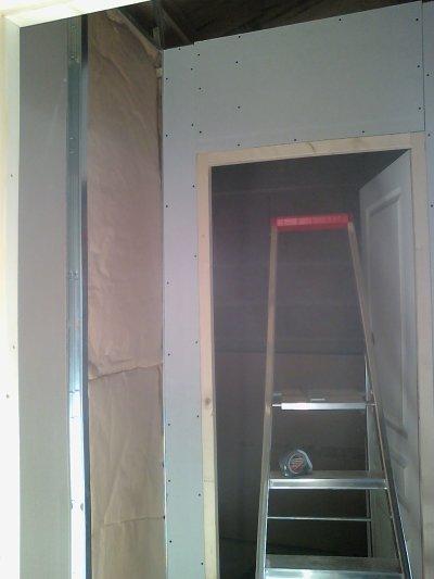 Faire une ouverture dans un mur en parpaing pour faire une cloison en placo doubl pour faire - Faire une ouverture dans une cloison en brique ...