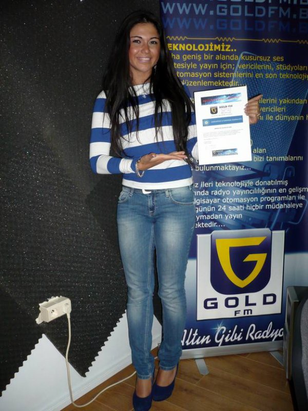 ASYE YILDIZLI termine avec brio son stage  GOLD FM !!!